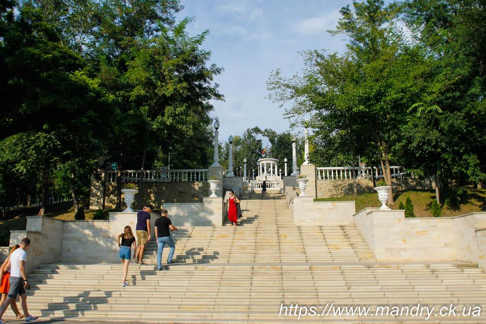 Каскадні сходи Кишинів