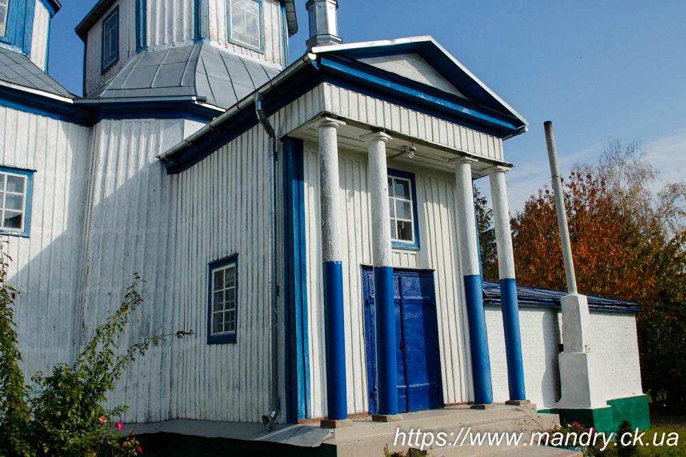 церква в Корнилівці