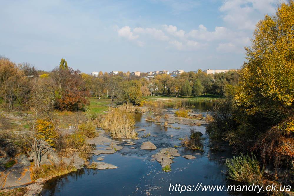 річка Рось в Корсунь - Шевченківському