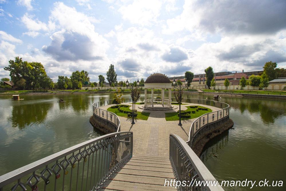 Міський сад Кременчука ротонда