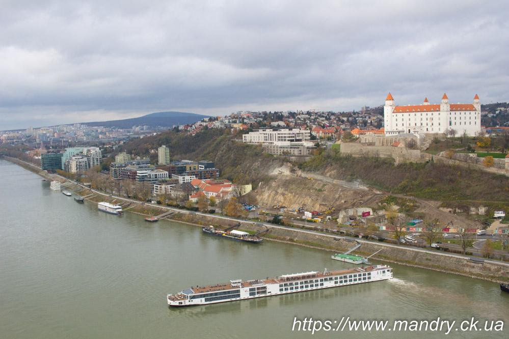 Дунай і замок