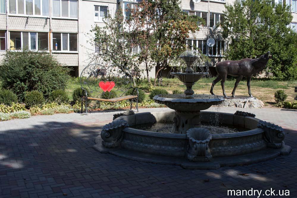 Пирятин  фонтан