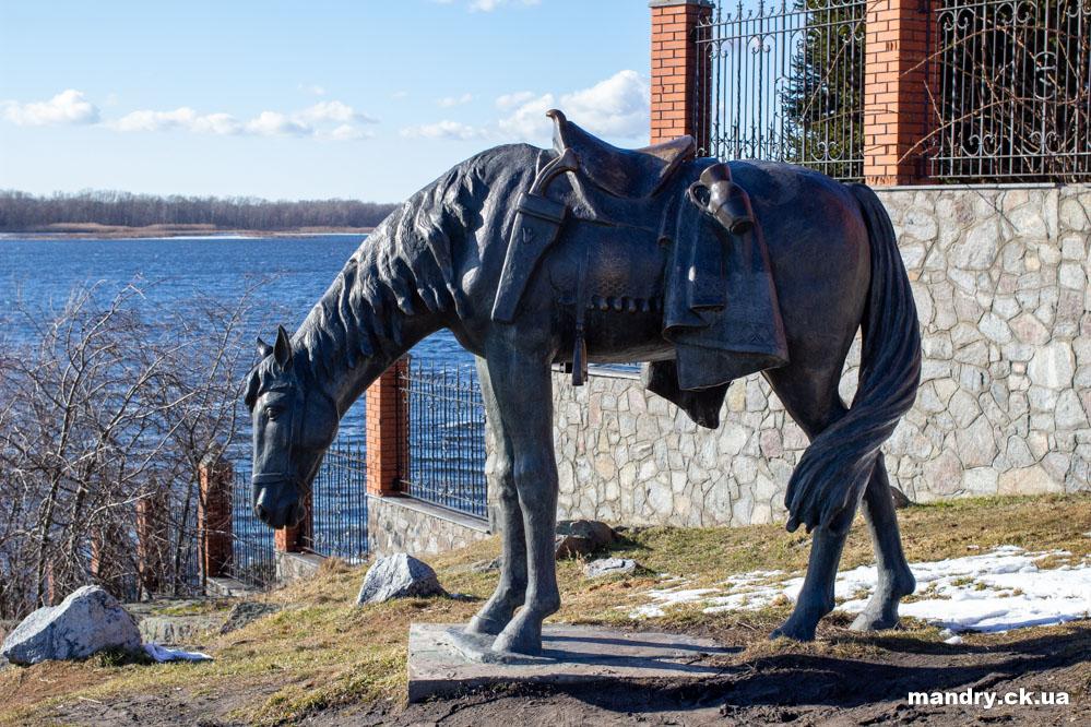 Кінь Тараса Бульби в Келеберді