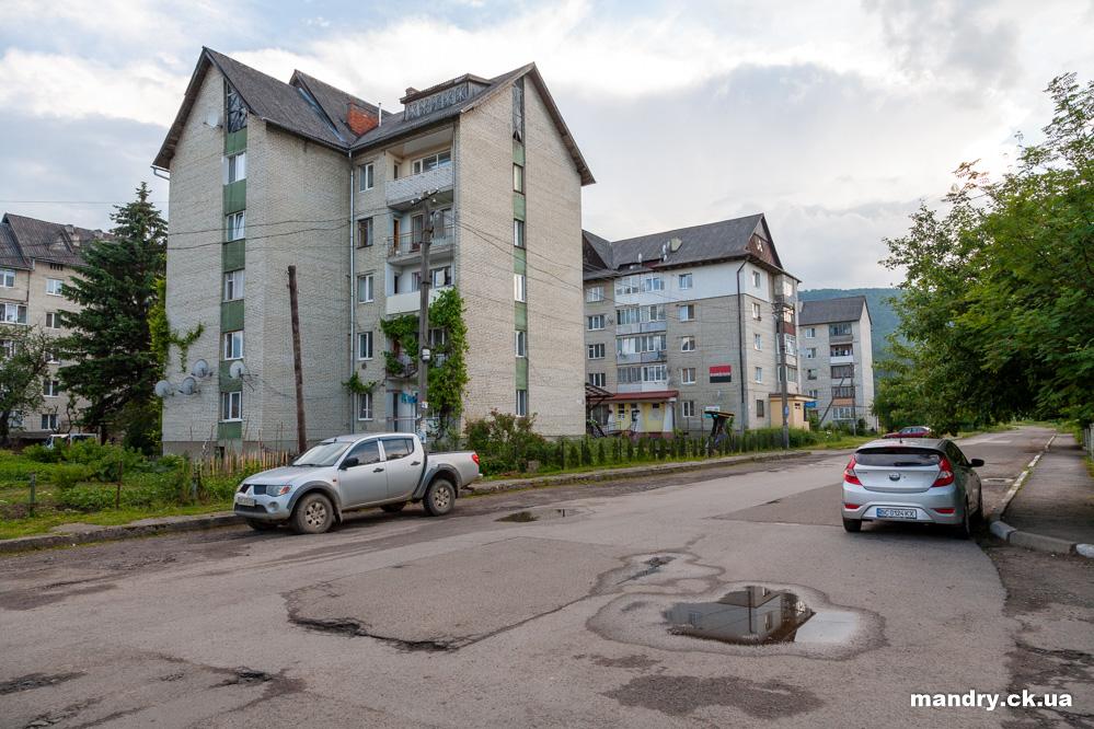 житлові будинки в Сколе