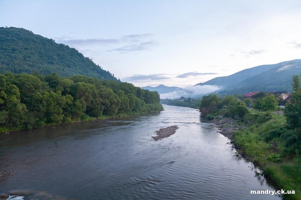 річка Опір у Сколе