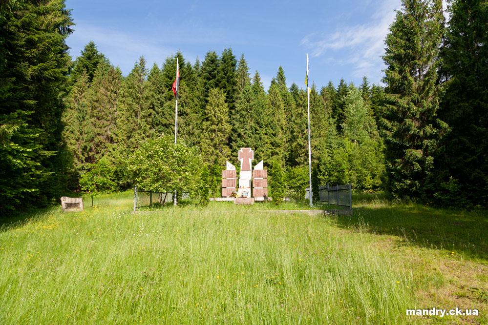 пам'ятник воїнам УПА