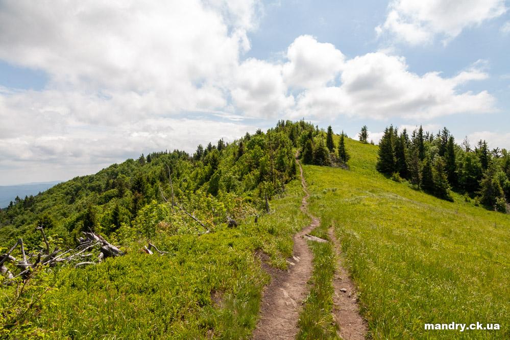Похід на гору Парашка